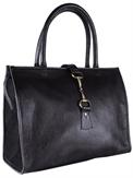 Alice Bag Fine Leather Black