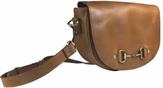Haston Bag In Tan Leather - Shoulder Bag