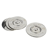 Cartridge Bottle Coasters (set of four)