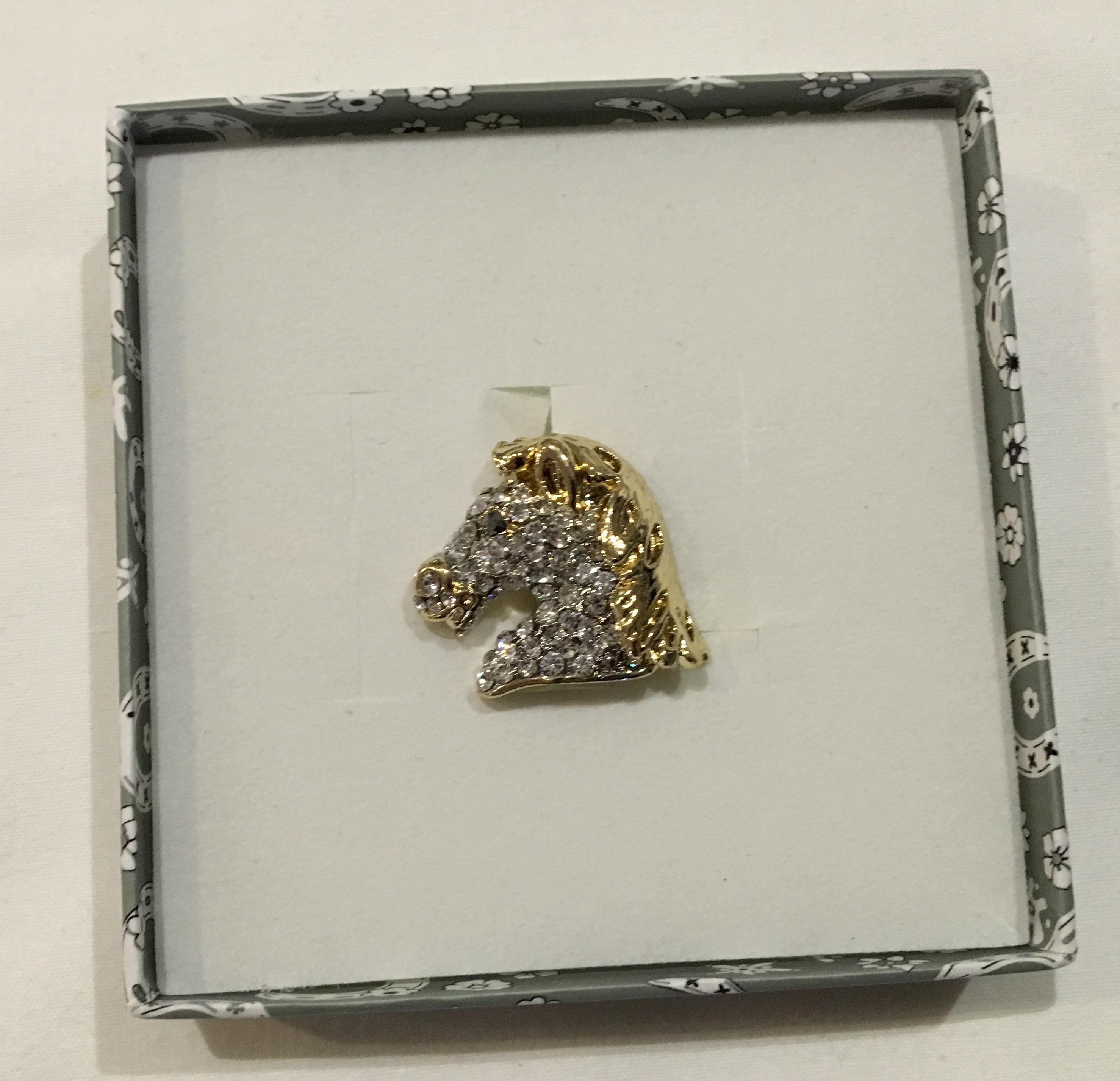 Horsehead Brooch