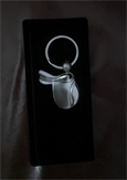 Saddle Keyring