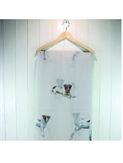 Scarf Jack Russells - Light Grey