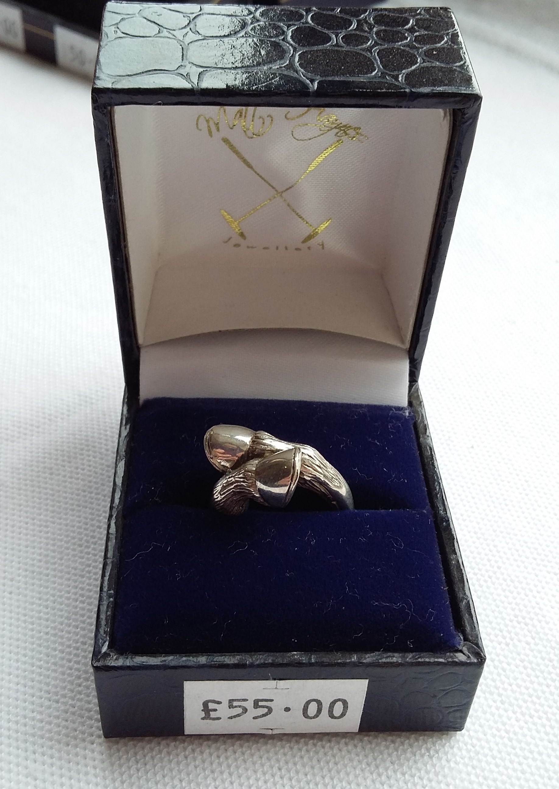 Silver Horse Hoof Ring