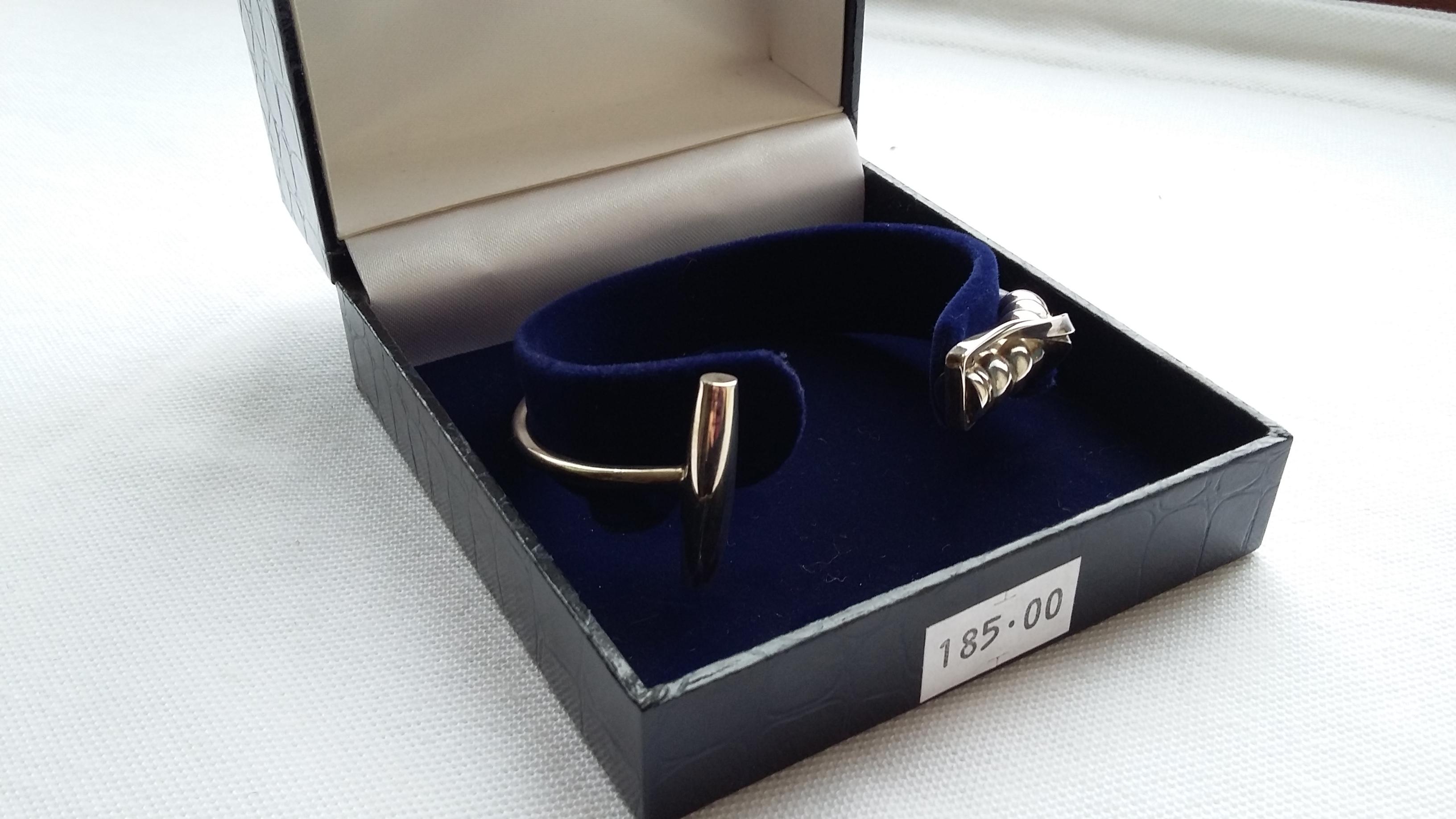 Silver Mallet Bracelet